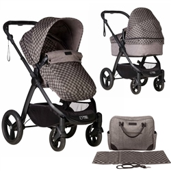 Mountain Buggy Cosmopolitan Luxury Pushchair + Carrycot Complete Pram Set
