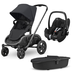 Quinny Hubb Complete Travel System - Graphite Frame