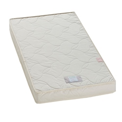 Little Green Sheep Twist Natural Cot Mattress 60x120cm