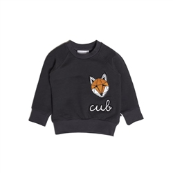 Tobias & The Bear Icons Badge Loopback Sweatshirt