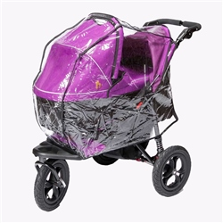 Out 'n' About Nipper Double Carrycot XL Raincover