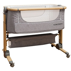 Cocoon Snuggle Time Sleeper Bedside Crib