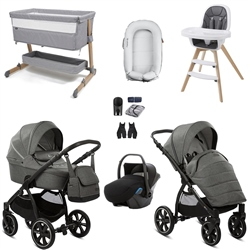 Noordi Fjordi Travel System & Premium Nursery Bundle