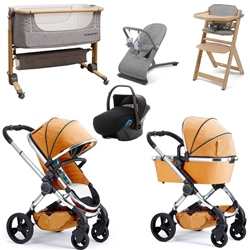 iCandy Peach Premium Travel System & Nursery Bundle