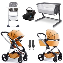 iCandy Peach Travel System & Essential Nursery Bundle 2