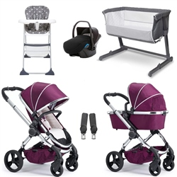 iCandy Peach Essential Travel System & Nursery Bundle