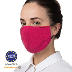 Noordi Adult Antimicrobial Face Mask - Raspberry