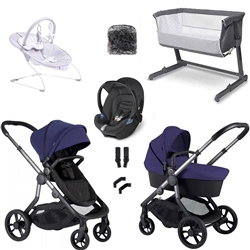 iCandy Orange Travel System & Essential Nursery Bundle