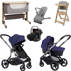 Orange Premium Travel & Nursery Bundle by iCandy
