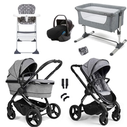 Peach 2020 Essential Travel & Nursery Bundle by iCandy