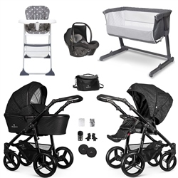 Venicci Starlight Essential Travel System & Nursery Bundle