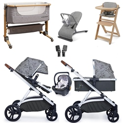 Cosatto Wow XL Travel System & Premium Nursery Bundle