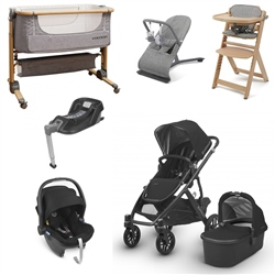 Uppababy Vista 2018 Travel System & Premium Nursery Bundle