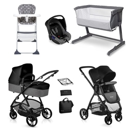 Be Cool Slide-3 Travel System & Essential Nursery Bundle