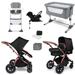 Ickle Bubba Stomp V4 Travel System & Essential Nursery Bundle