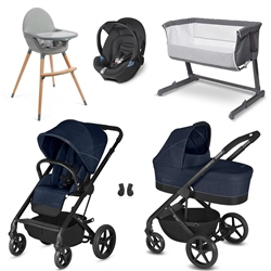 Cybex Balios S Travel System & Premium Nursery Bundle