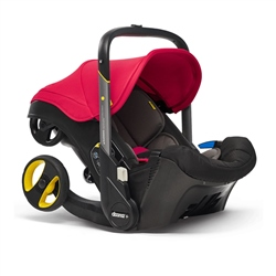 Doona Doona+ Infant Car Seat - Flame Red