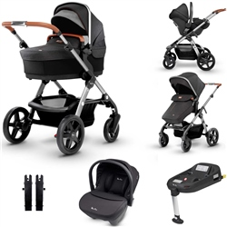 Silver Cross Wave Travel System & Isofix Bundle