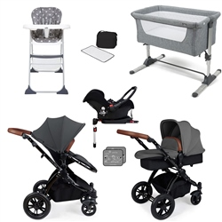 Ickle Bubba Stomp V3 Travel System & Premium Nursery Bundle