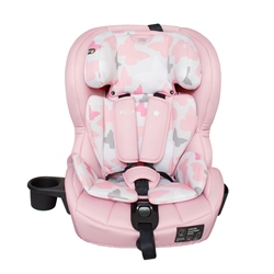 MyBabiie Katie Piper Group 123 Isofix Car Seat (Option: Pink Butterflies)