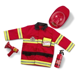 Melissa & Doug Fire Chief Outfit