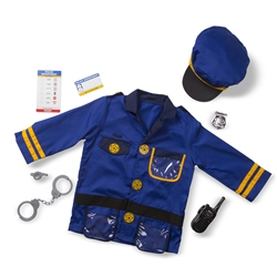 Melissa & Doug Police Officer Outfit