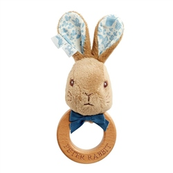 Rainbow Designs Peter Rabbit Ring Rattle Toy