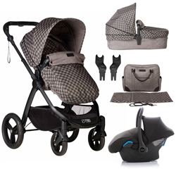 Mountain Buggy Cosmopolitan Luxury Pushchair + Carrycot + Car Seat