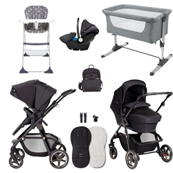 Silver Cross Pioneer Eclipse Essential Travel & Nursery Bundle