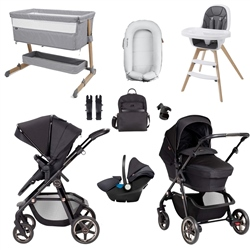 Silver Cross Pioneer Eclipse Premium Travel & Nursery Bundle