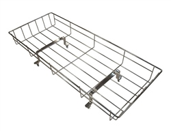 Silver Cross Oberon chrome shopping tray