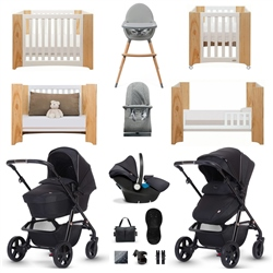 Silver Cross Pioneer Eclipse Luxury Travel & Nursery Bundle