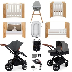 Ickle Bubba Stomp V3 Luxury Travel & Nursery Bundle