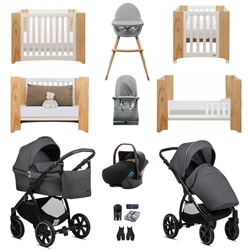 Noordi Sole Go Luxury Travel & Nursery Bundle