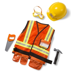 Melissa & Doug Construction Worker Outfit