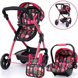 Cosatto Me Mo Dolls Pram & Carseat
