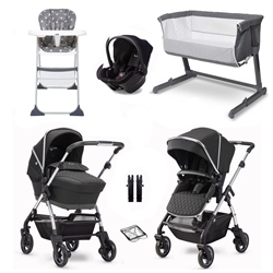 Silver Cross Wayfarer 2020 Essential Travel & Nursery Bundle