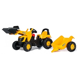 Rolly Toys Kid JCB Tractor & Trailer & Loader