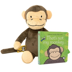 Rainbow Designs That's Not My Monkey - Book & Soft Toy
