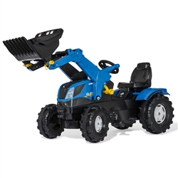 Rolly Toys New Holland Farm Tractor & Loader