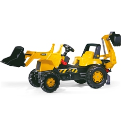 Rolly Toys JCB Junior Tractor, Loader & Backhoe