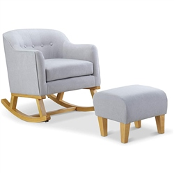 BabyLo Haven Rocking Chair & Footstool