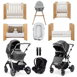 Silver Cross Pioneer Light Luxury Travel & Nursery Bundle