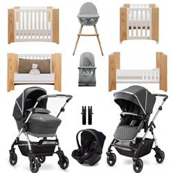 Silver Cross Wayfarer 2020 Luxury Travel & Nursery Bundle