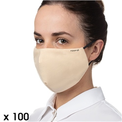 Noordi Antimicrobial Face Masks - Adult 100 Pack