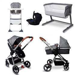 BabyLo Panorama 2in1 Essential Travel & Nursery Bundle