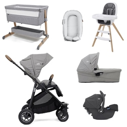 Joie Versatrax Premium Travel & Nursery Bundle