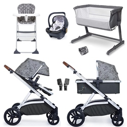 Cosatto Wow XL Essential Travel & Nursery Bundle