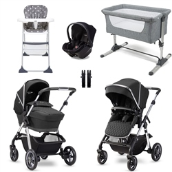 Silver Cross Pioneer Light Essential Travel & Nursery Bundle