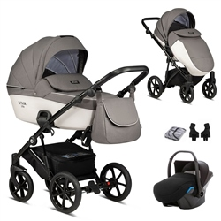 Tutis Viva Life-3 3in1 Travel System, Pearl